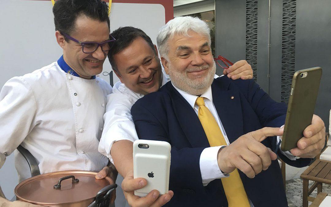 Cucina e letteratura: Agli Amici ospita Roberto Perrone