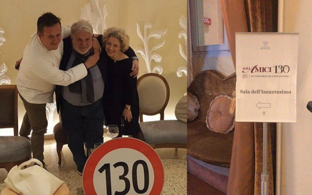 i nostri 130 anni al Château Monfort di Milano